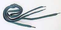 Шнурки в  кроссовки  плоские  100см  зеленые