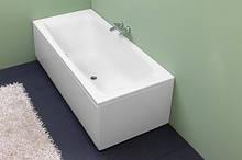 Прямокутна гідромасажна ванна Kolpa-San Aida 170x75 Water S (сенсор) на каркасі, 1700х750х610 мм