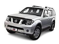 Защита переднего бампера Nissan Pathfinder (2006+)