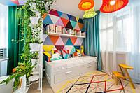 Детская комната с яркими акцентами, фото 1