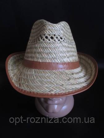 Соломенная шляпа для мужчин