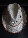 Соломенная шляпа для мужчин, фото 2