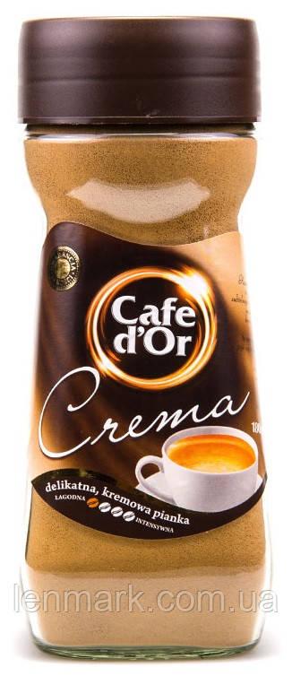 Растворимый кофе Café D`or  «Crema»  100 % арабика 200 г