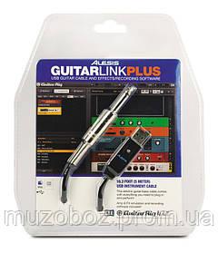 Alesis Guitarlink Plus интерфейс для подключения гитары к ПК