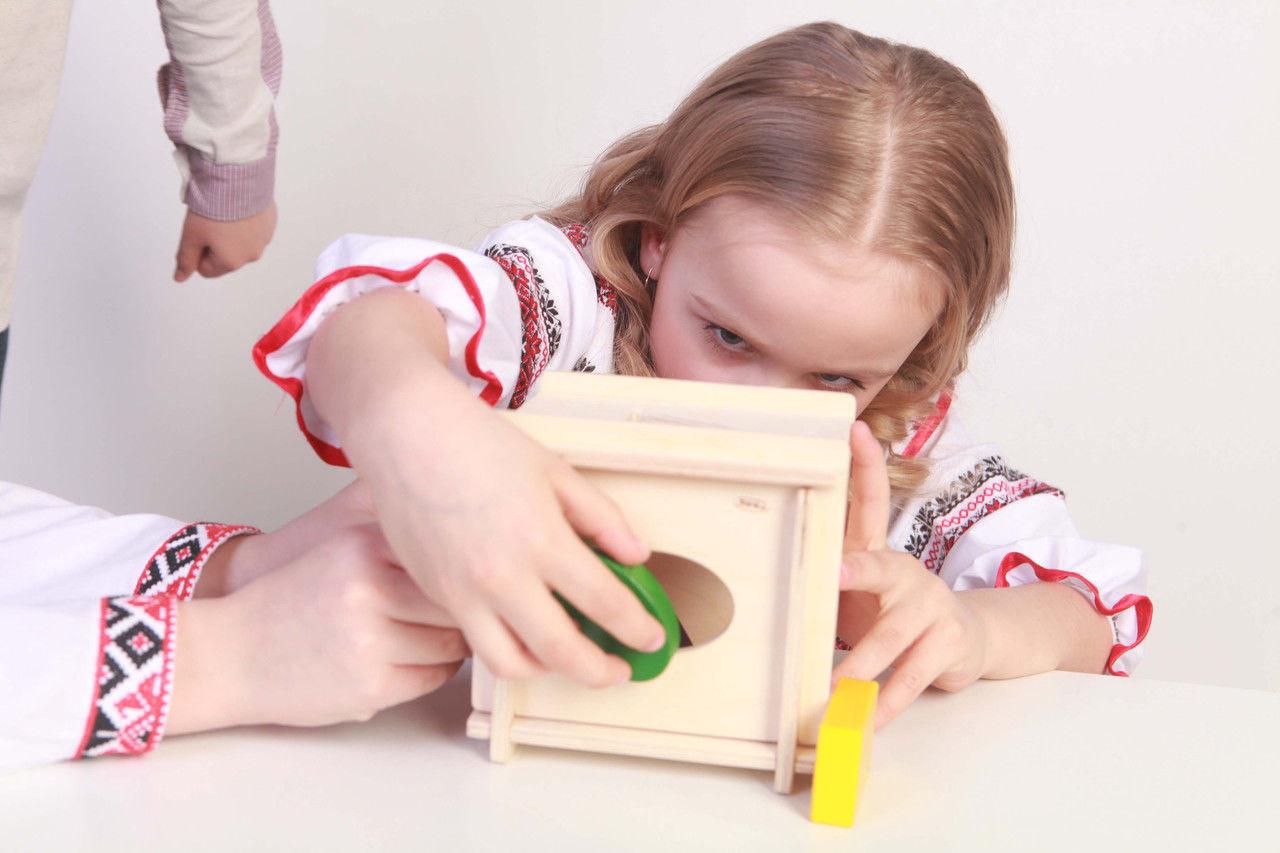 Сортер развивающая игра на координацию,внимание,усидчивость
