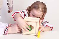 Сортер развивающая игра на координацию,внимание,усидчивость, фото 1