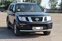 Защитная дуга на передний бампер Nissan Navara (2006+)