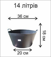 Черные корзины, фото 1