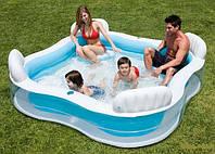 """Детский надувной бассейн Intex 56475 """"Семейный"""" , фото 1"""