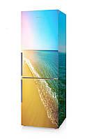 Наклейка на холодильник море