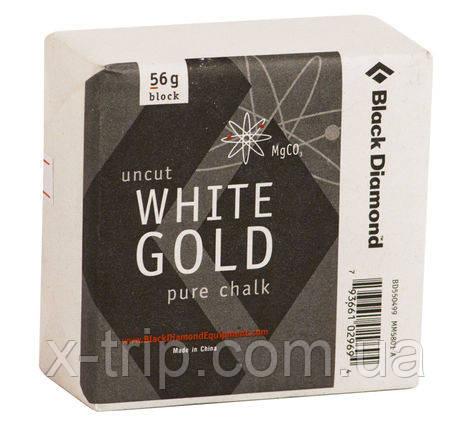 Спортивная магнезия Black Diamond Uncut White Gold Pure Chalk 56g Block