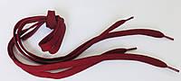 Шнурки в  кроссовки  плоские  100см  бордо