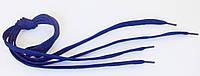 Шнурки в  кроссовки  плоские  100см  темно- синий