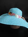 Красивая и яркая шляпа на лето, фото 2