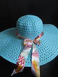Красивая и яркая шляпа на лето, фото 3