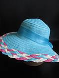 Невероятно красивая шляпка с плетеным ободком, фото 2