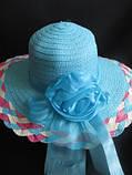 Невероятно красивая шляпка с плетеным ободком, фото 3