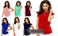 Блуза С'юзі-2 шифон 7 кольорів