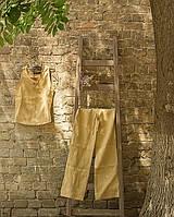 Льняной женский костюм
