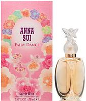 Anna Sui Secret Wish Fairy Dance EDT 75ml  туалетная вода женская (оригинал подлинник  Германия)