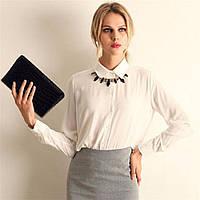 Блузка рубашка женская Белая