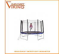 Батут детский Hop-Sport 366 см с внешней защитной сеткой и лестницей