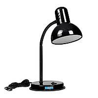 Лампа настольная «Антрацит» (черный глянцевый лак)
