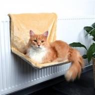 Гамак для кошки на радиатор Trixie бежевый (Арт-43201)