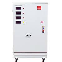 Трехфазный сервоприводный стабилизатор напряжения Элтис SERVO 15000 LED, фото 1