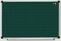 Доска меловая в клетку S-line 65х100
