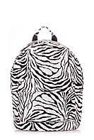 Рюкзак женский POOLPARTY зебра