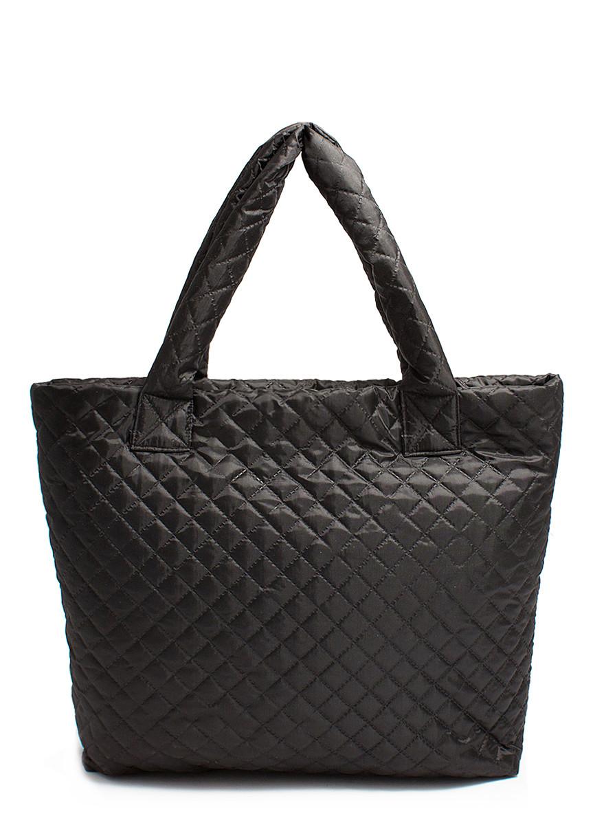 Стьобана сумка POOLPARTY чорна