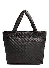 Стеганая сумка POOLPARTY черная