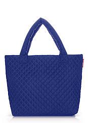Стеганая сумка POOLPARTY синяя