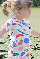 Трикотажная легкая футболка унисекс. Размеры: 98,104,110 см, фото 1