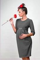 Платье для беременных серое р.М, ТМ Dianora