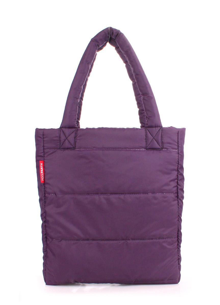 Дутая сумка POOLPARTY violet