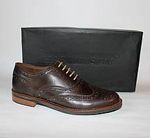 Шикарные кожаные мужские туфли-броги Harrykson, Оригинал