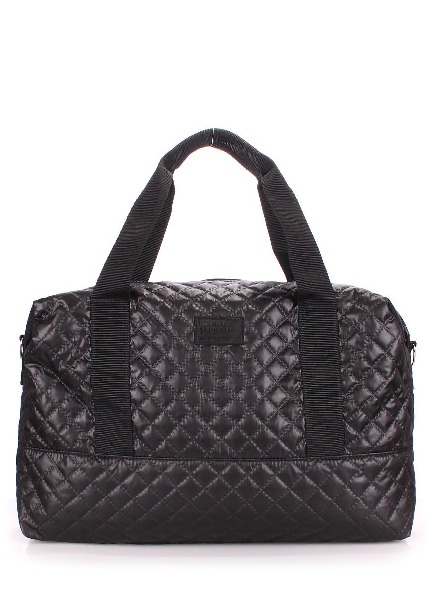 Стеганая сумка POOLPARTY Swag черная