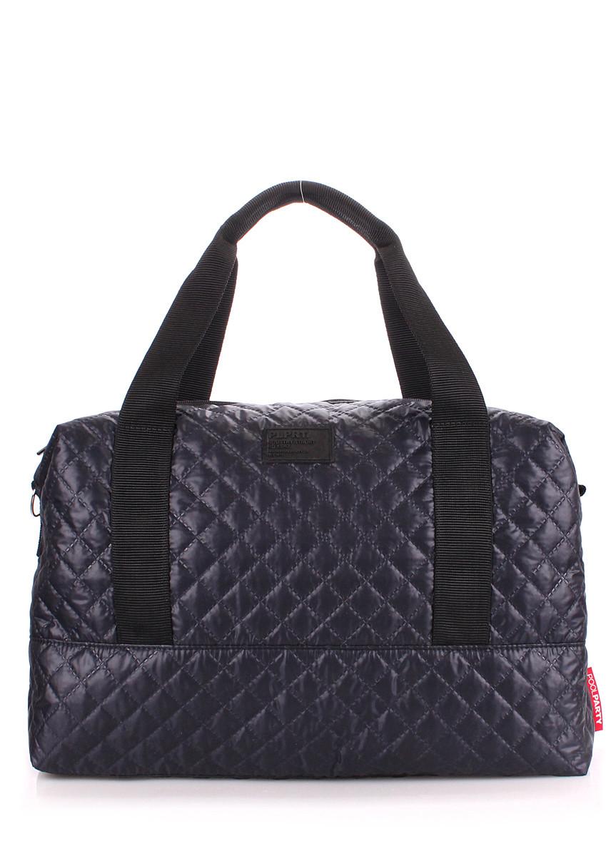 Стеганая сумка POOLPARTY Swag синяя