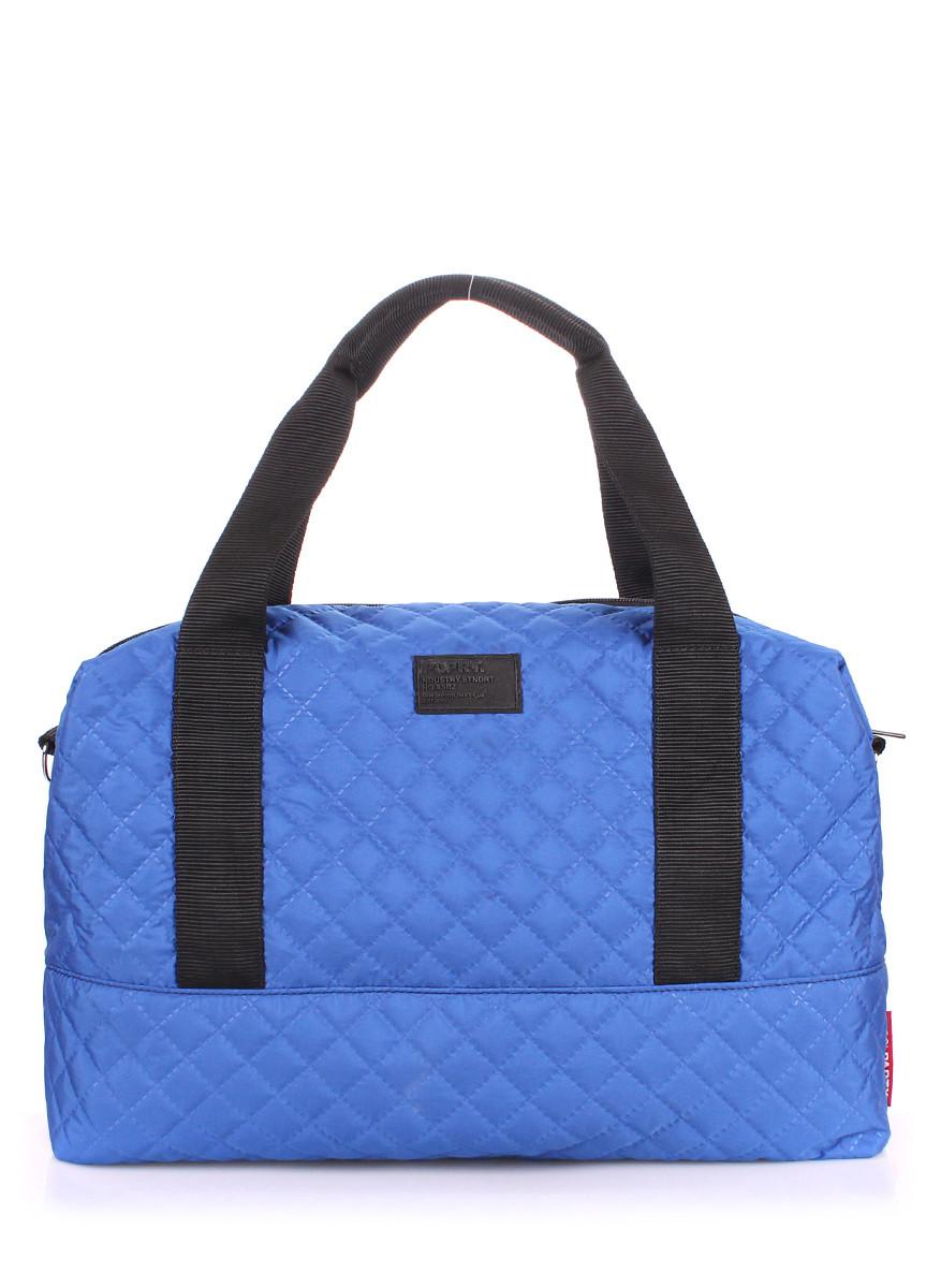 Стеганая сумка POOLPARTY Swag голубая