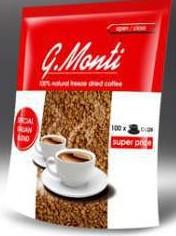 Растворимый кофе G.Monti 200 г