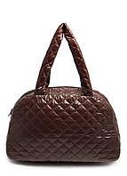 Стеганая женская сумка из ткани