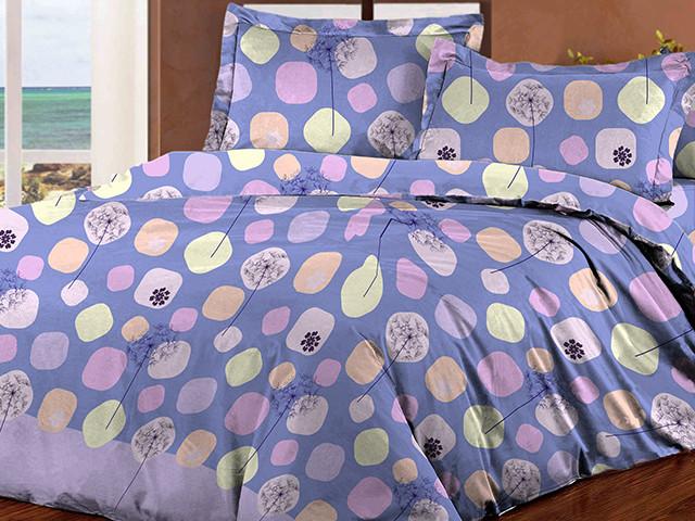 Полуторный комплект постельного белья деним