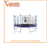 Батут детский Hop-Sport 488 см с внутненней защитной сеткой и лестницей