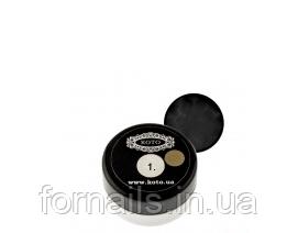 3D гель-пластилин Koto №1 (5 гр) черный