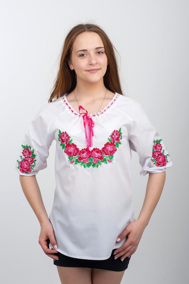 a29bc12f9cb7468 Женская вышитая рубашка