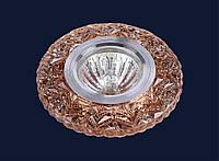 Точечный светильник Levistella 705A12 коричневый
