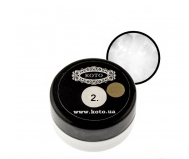 3D гель-пластилин Koto №2 (5 гр) белый