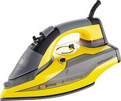 Утюг Gorenje SIH2600YC (SG-8008) 2600 Вт/ покрытие Perfect glide / автоотключение /желтый